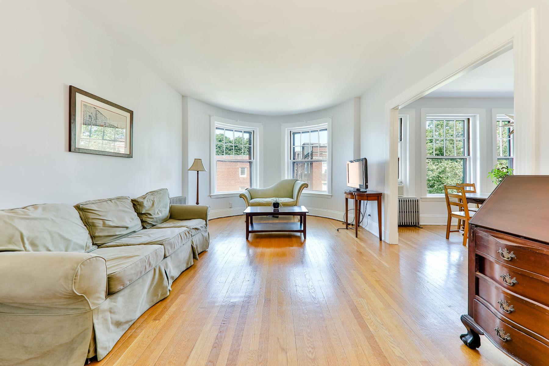 Condominiums for Active at 35 Saint Paul St 5 Brookline, Massachusetts 02446 United States
