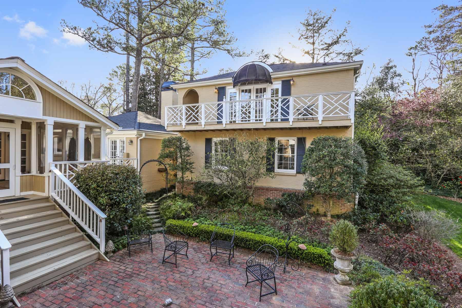 Single Family Home for Sale at Old Buckhead Charm 3038 Nancy Creek Road Atlanta, Georgia, 30327 United States
