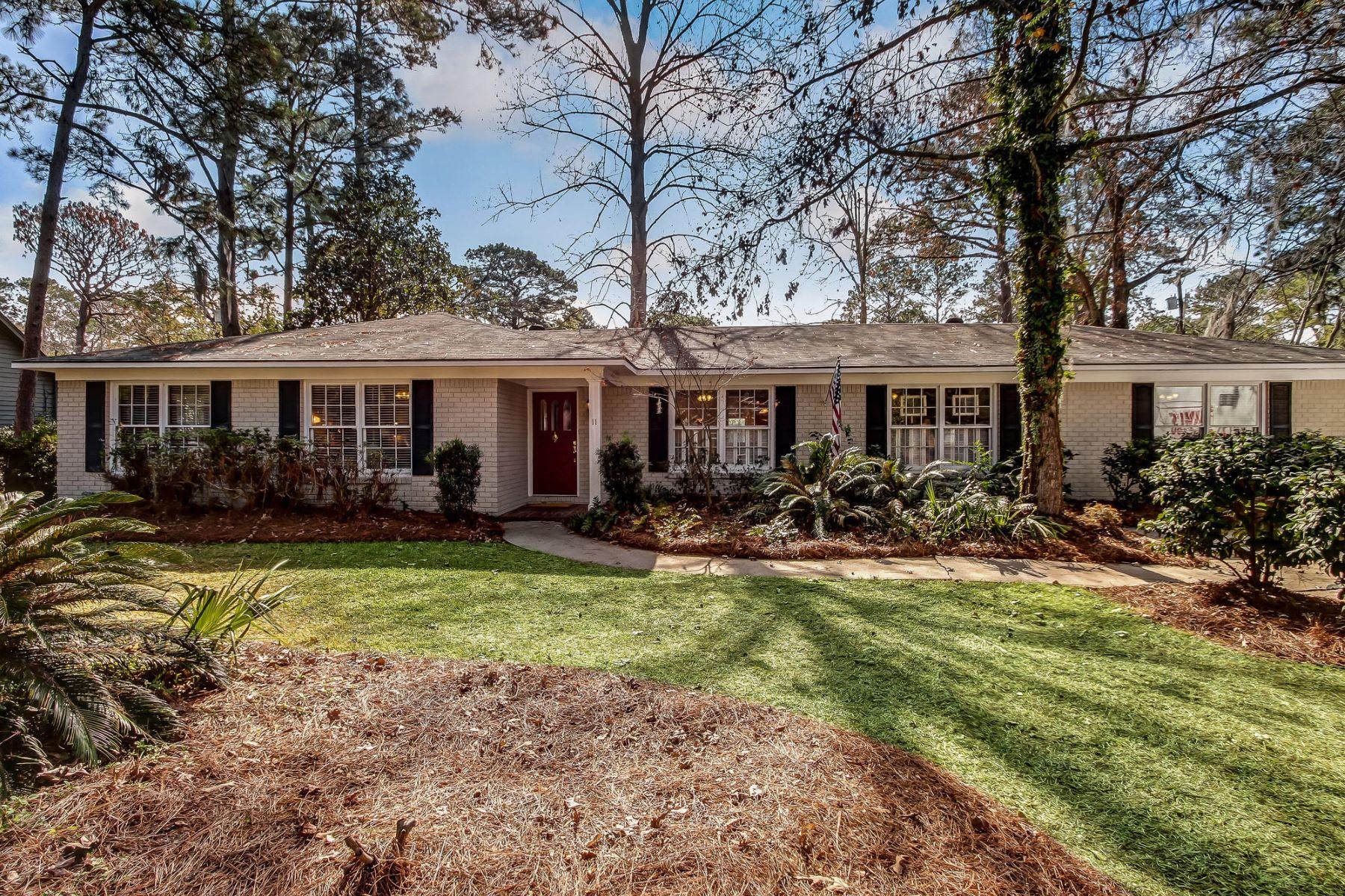 واحد منزل الأسرة للـ Sale في 11 Wylly Avenue Isle of Hope, Savannah, Georgia, 31406 United States