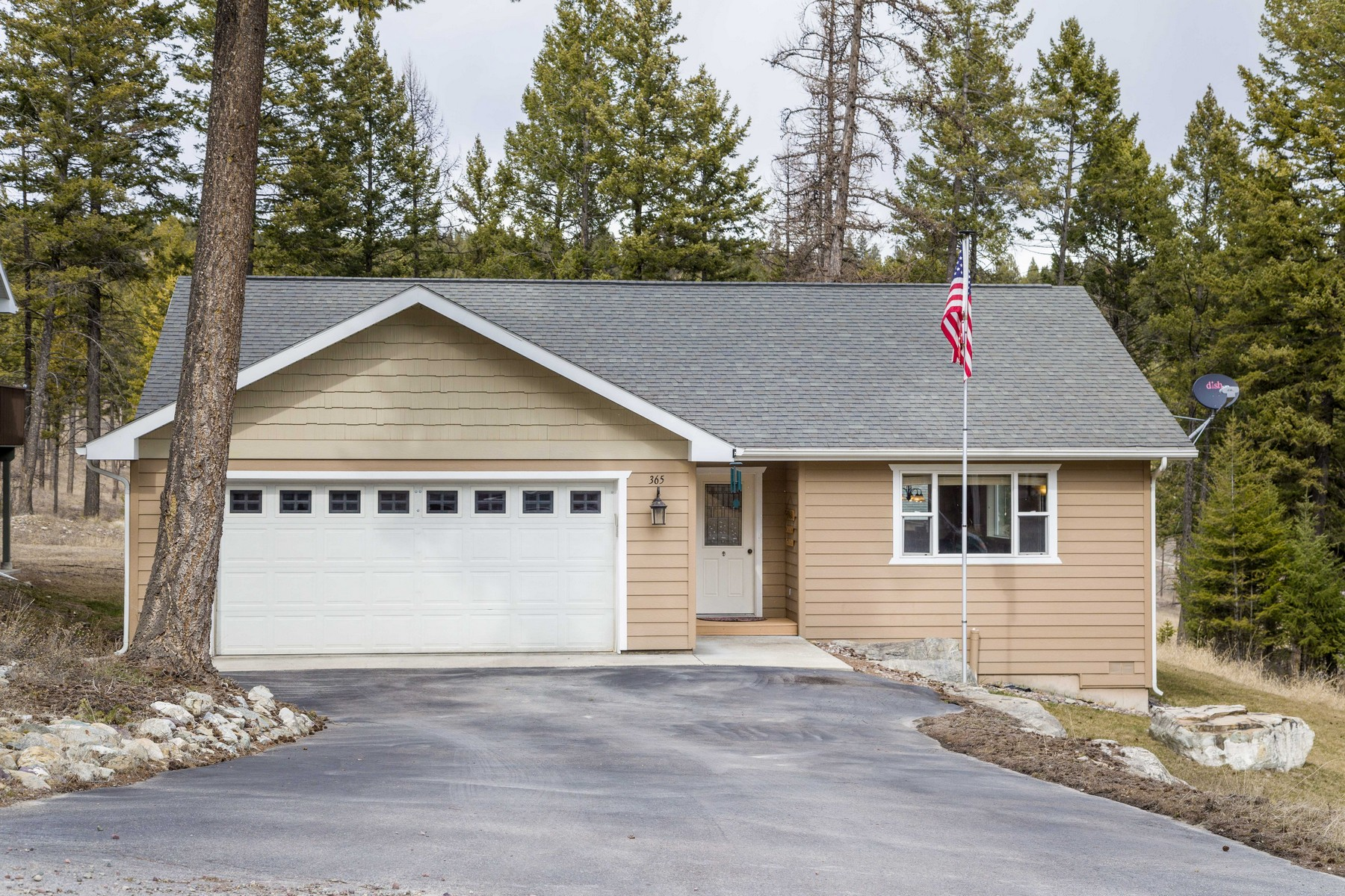 Single Family Homes for Sale at 365 Skookum Road Lakeside, Montana 59922 United States
