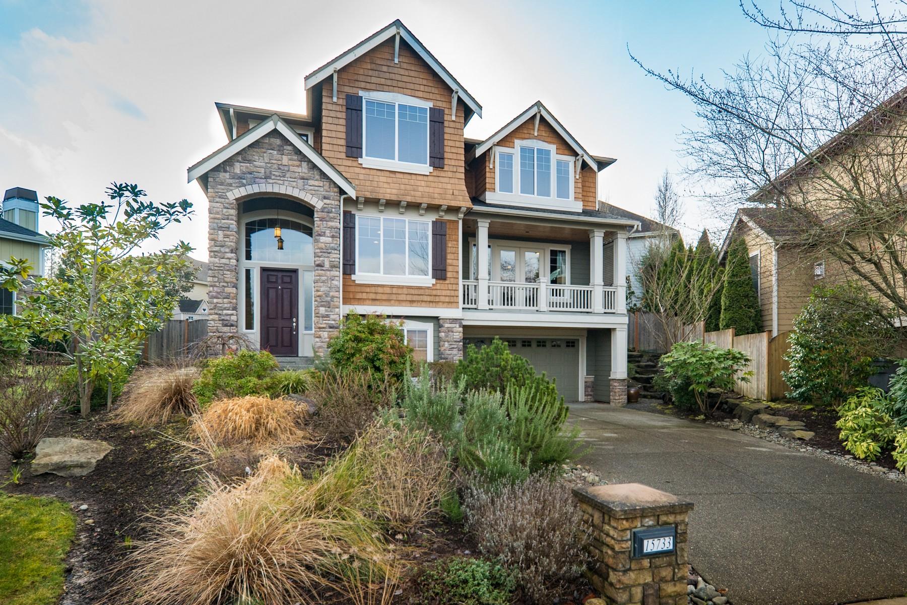 Single Family Home for Sale at Kensington 15733 NE 119th Ct Redmond, Washington 98052 United States