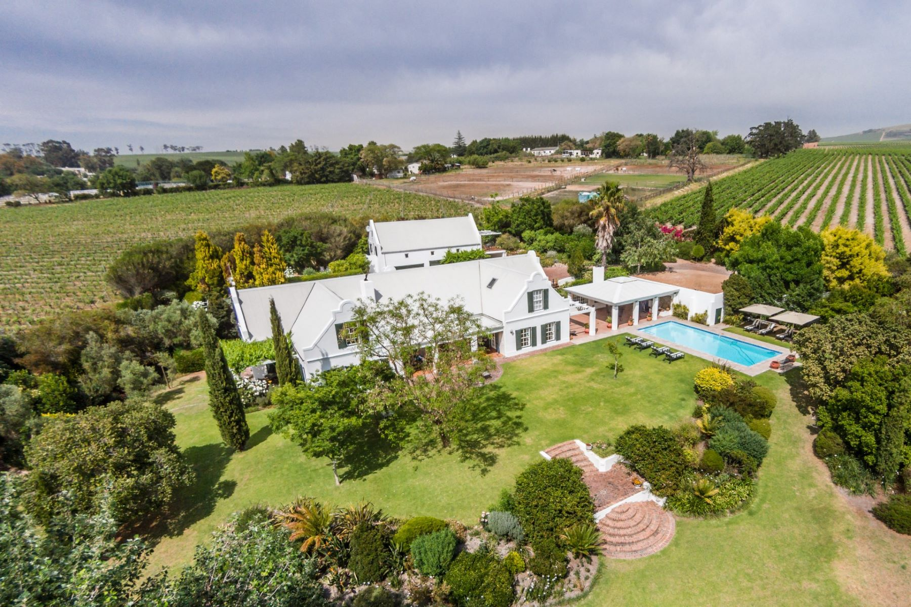 Farm / Ranch / Plantation for Sale at Stellenbosch Stellenbosch, Western Cape 7600 South Africa