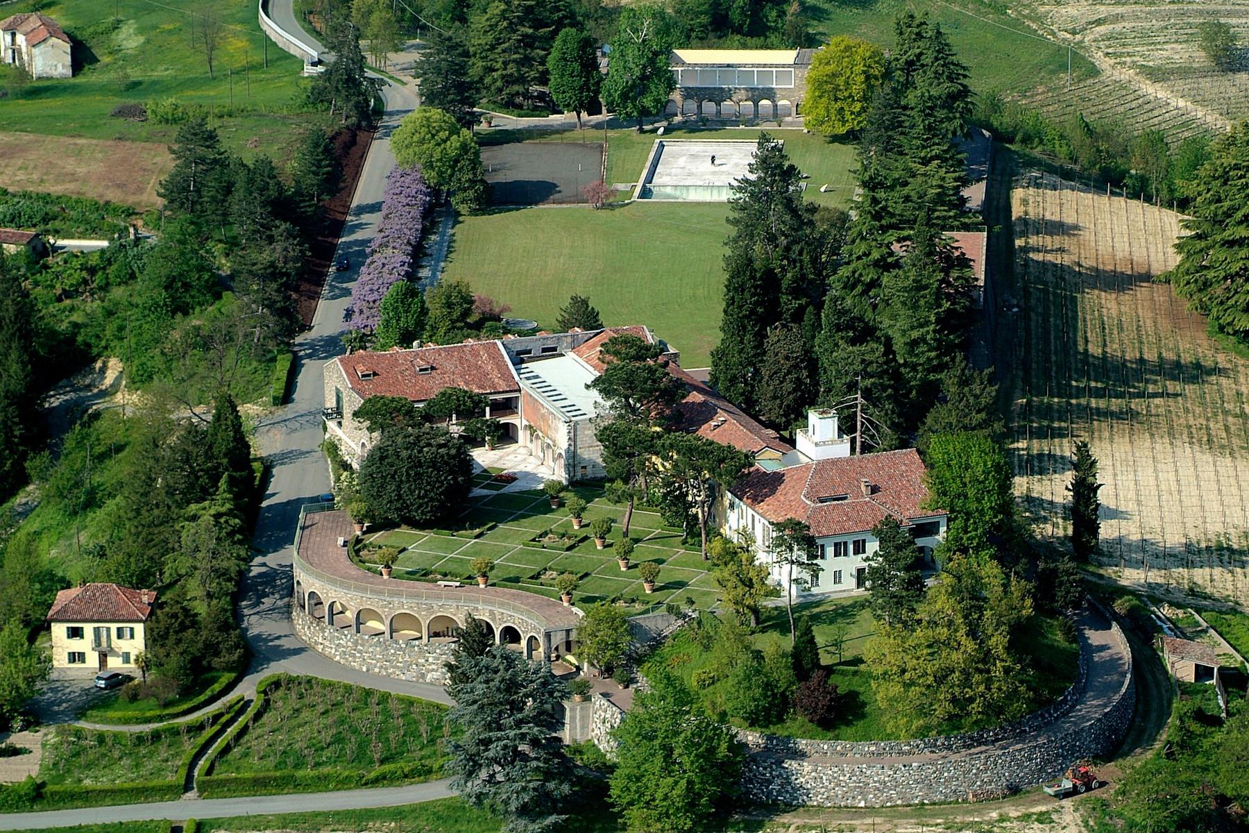 独户住宅 为 销售 在 Villa Ottolenghi, architectural masterpiece in Monferrato Strada Monterosso 阿奎泰尔梅, 亚历山德里亚, 15011 意大利