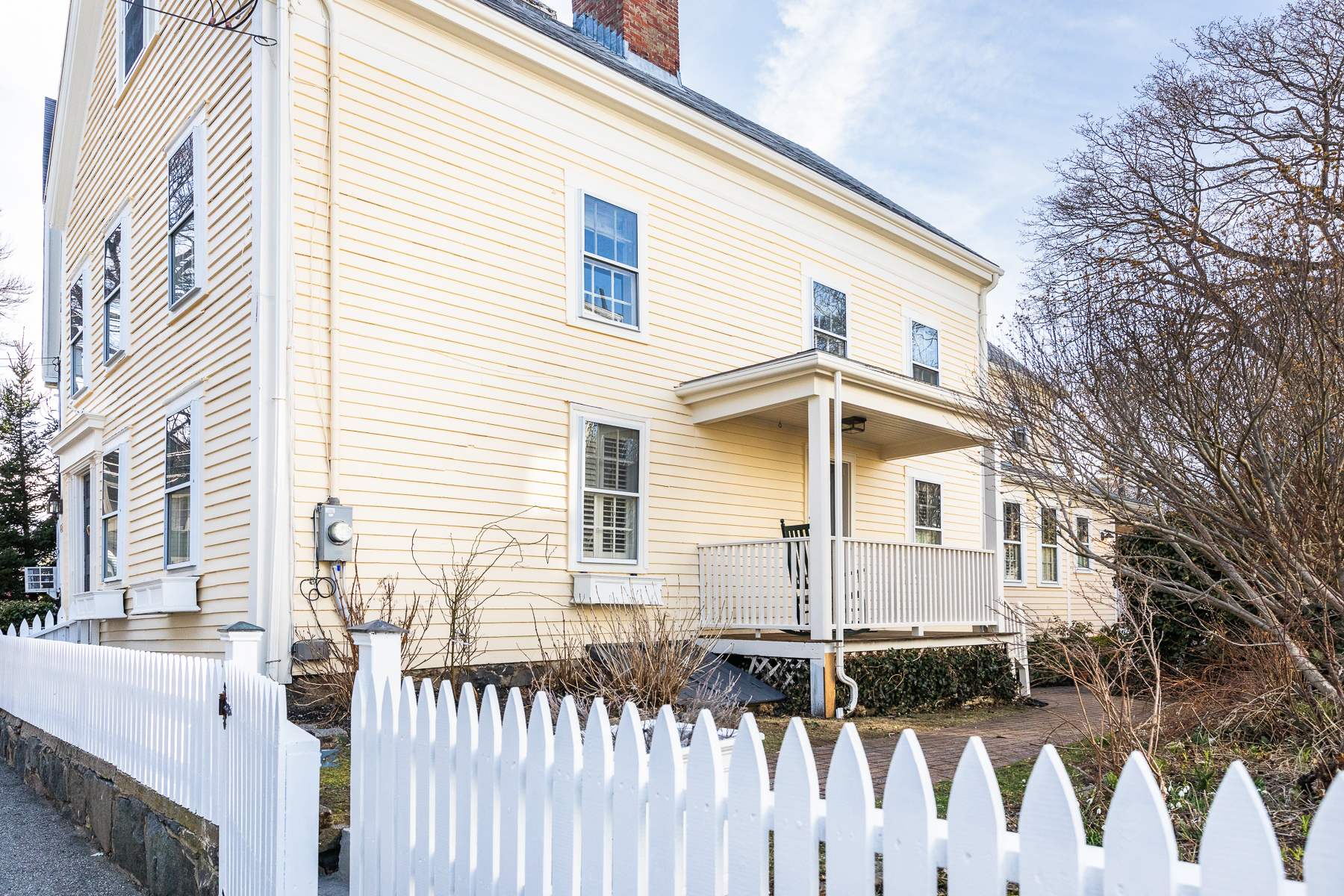 Single Family Home for Active at Antique colonial mixing charm, character, and modern amenities 62 Front Street Marblehead, Massachusetts 01945 United States