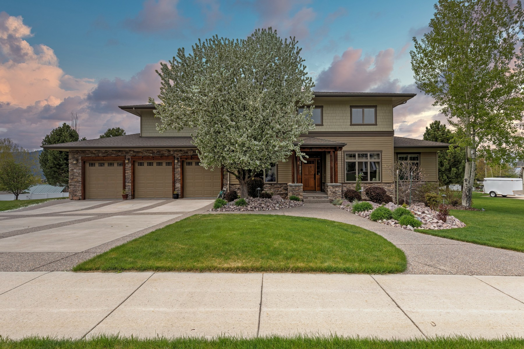 Single Family Homes for Sale at Upper Miller Creek Home 6075 Marias Street Missoula, Montana 59803 United States