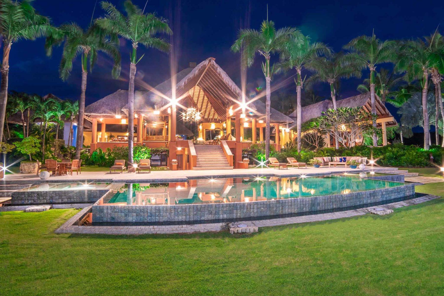 "Single Family Homes por un Venta en Boca Chavon # 7 - ""Villa Alegria"" - Captivating and exquisite Caribbean estate Casa De Campo, La Romana República Dominicana"