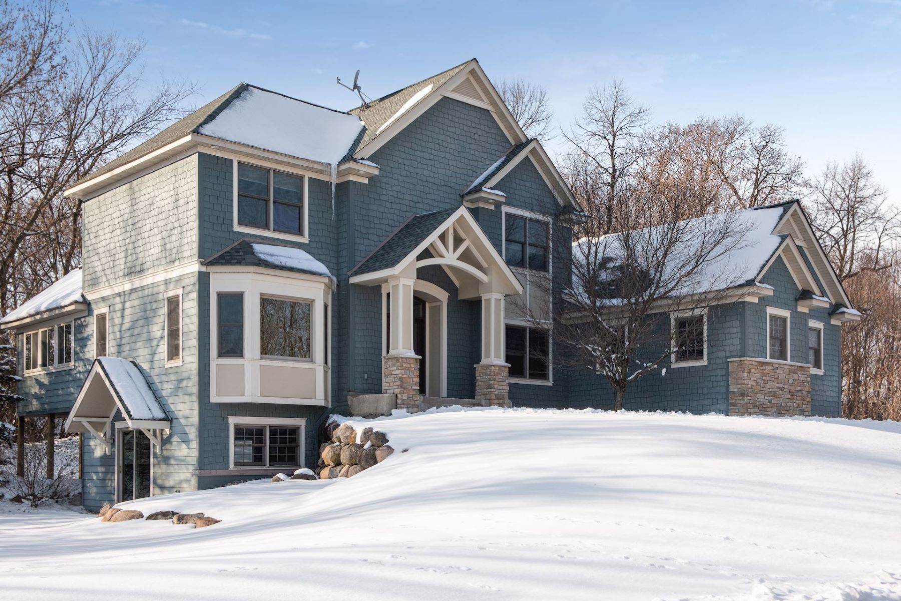 Single Family Homes for Sale at Gorgeous, Updated French Country Two-Story Home 2870 Basswood Drive Minnetrista, Minnesota 55364 United States