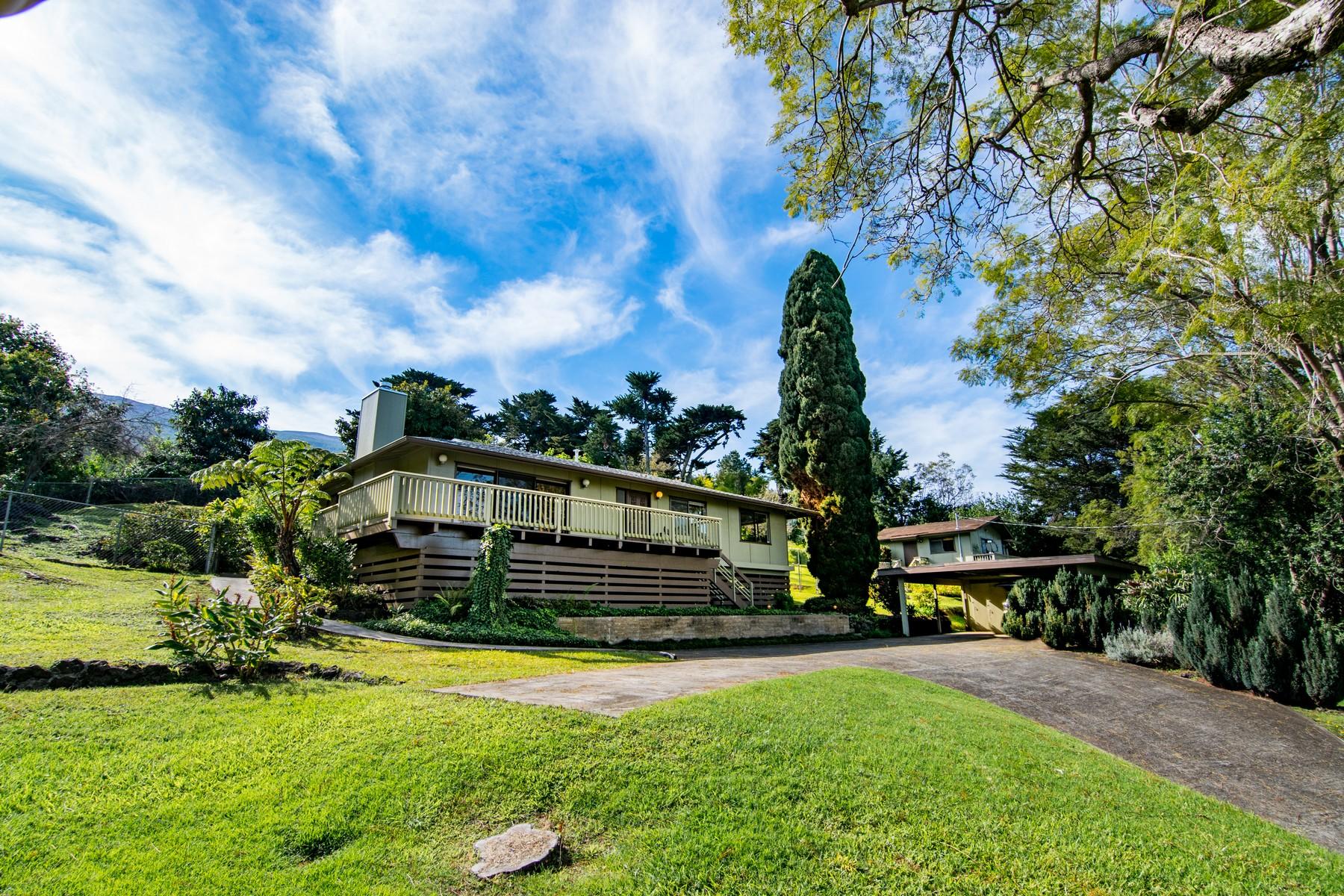 Einfamilienhaus für Verkauf beim Best Kula Location, House & Cottage, Maui Hawaii 15 Oluolu Place, Kula, Hawaii, 96790 Vereinigte Staaten