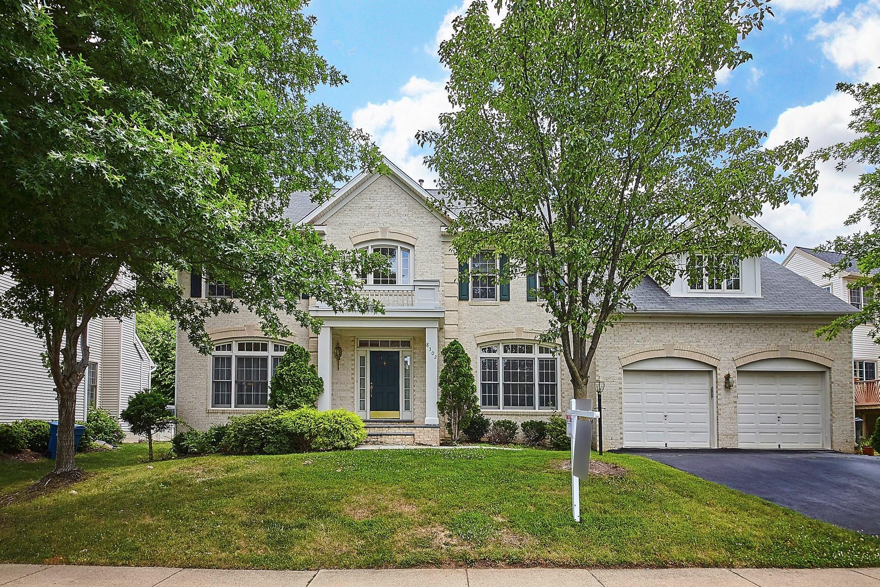 獨棟家庭住宅 為 出售 在 Wolftrap 8302 Wolftrap Road Vienna, 弗吉尼亞州 22182 美國