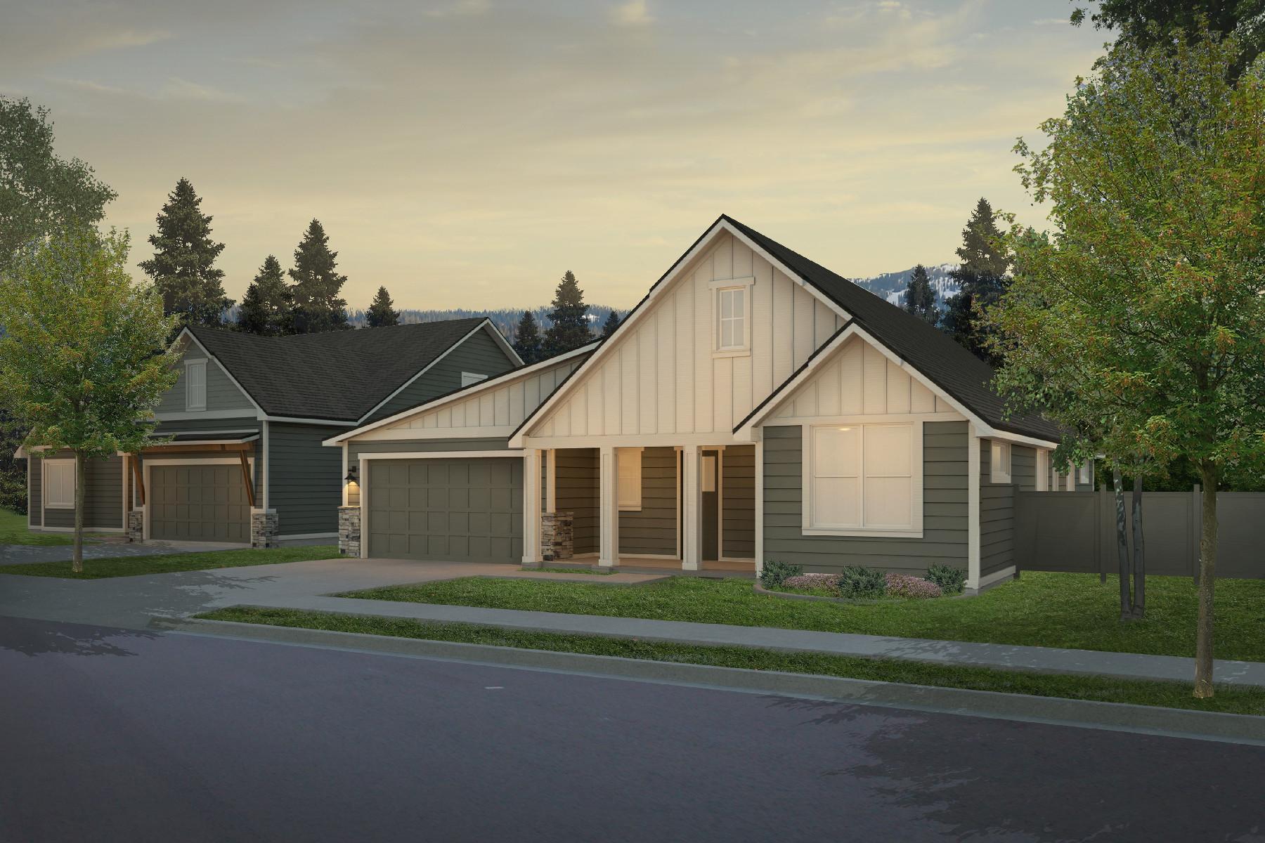 Single Family Homes pour l Vente à 3676 N Cyprus Fox Loop Post Falls, Idaho 83854 États-Unis
