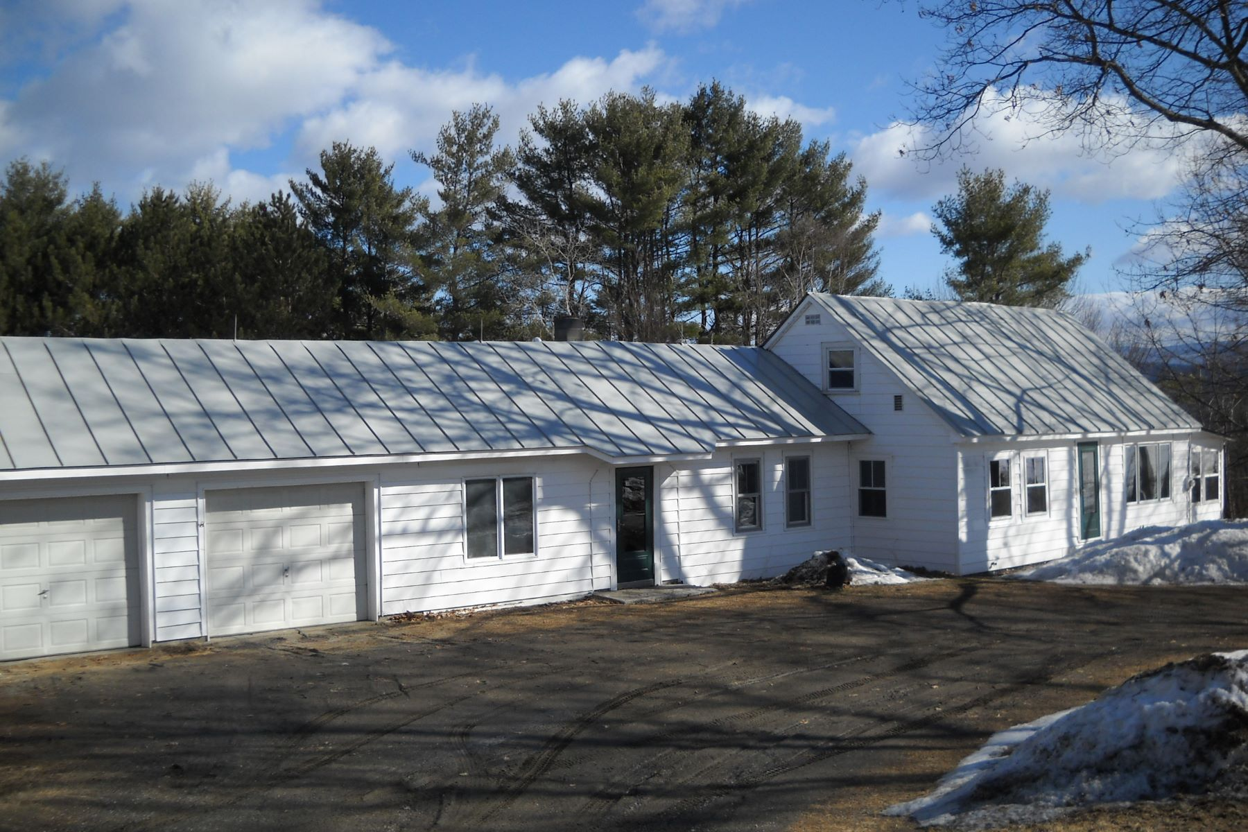 Single Family Homes for Sale at Three Bedroom Antique Cape in Bradford 432 South Road Bradford, Vermont 05033 United States