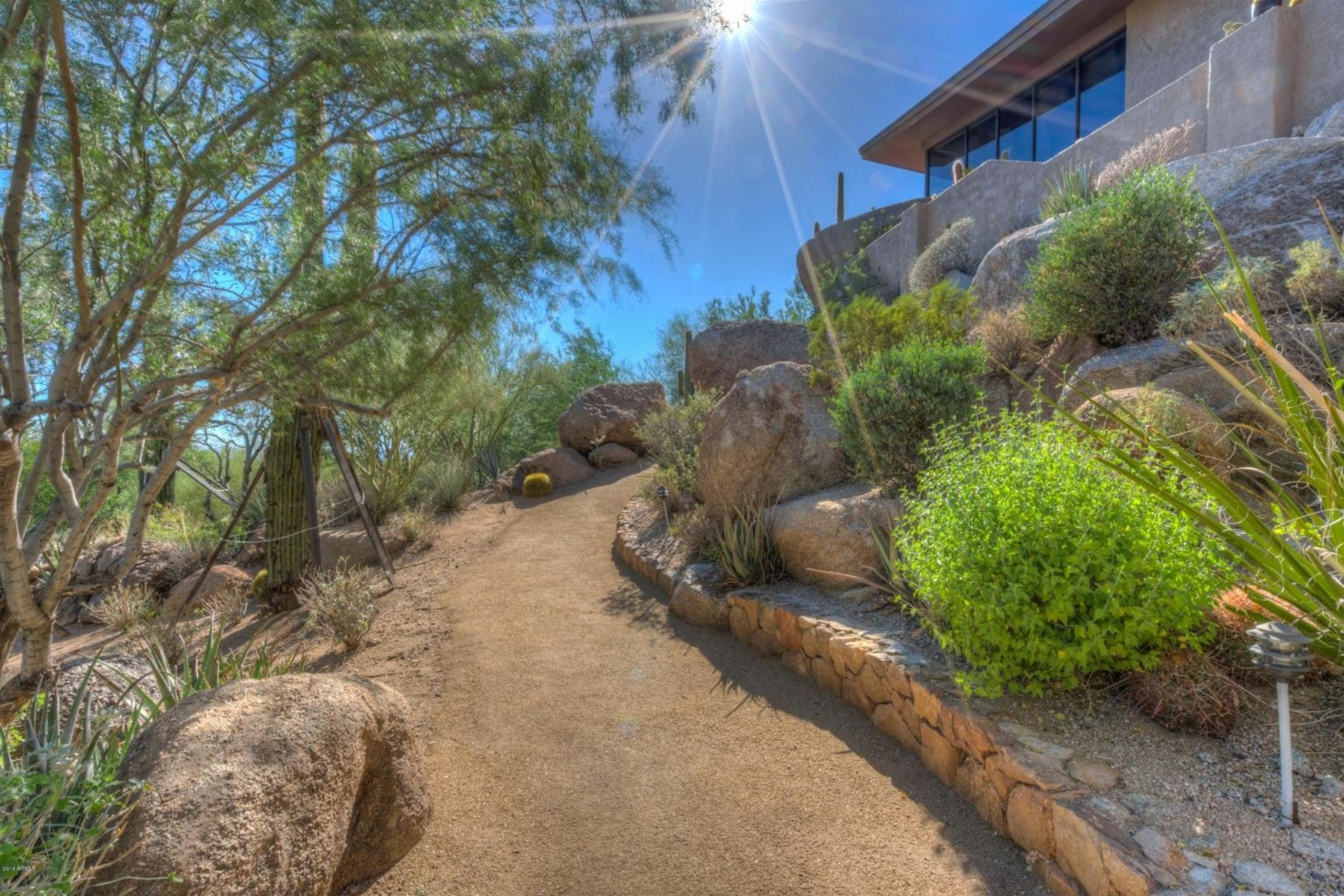 Single Family Homes for Active at Gerry Jones Custom Hillside Home 6924 E Stagecoach Pass Carefree, Arizona 85377 United States