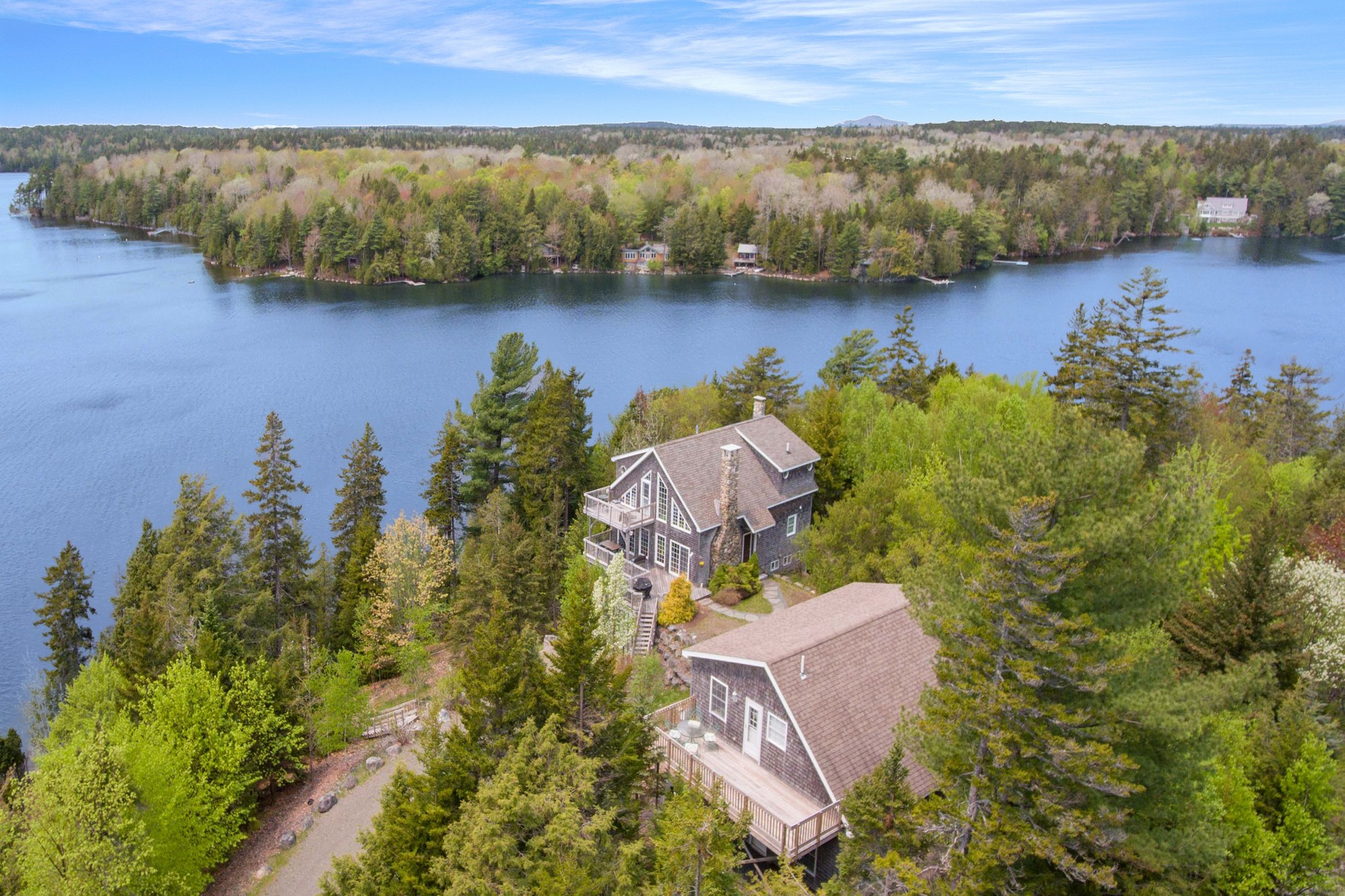 Single Family Homes for Sale at Long Pond Cottage 13 Mitchell Road Mount Desert, Maine 04660 United States