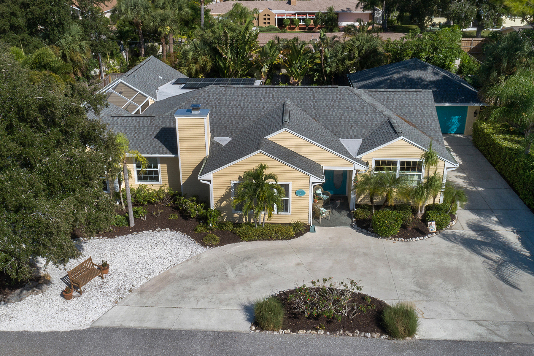 Single Family Homes por un Venta en CORNWELL ON THE GULF - VENICE ISLAND 7 Cornwell On The Gulf, Venecia, Florida 34285 Estados Unidos