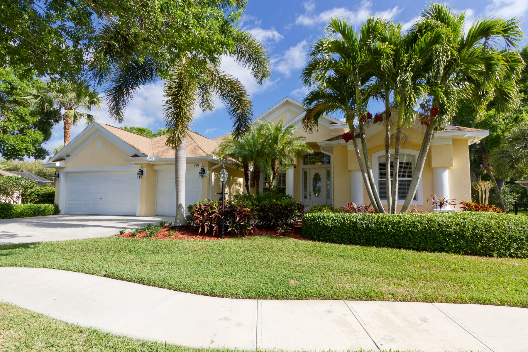 Property for Sale at Captivating Two Story Pool Home on Cul-De-Sac 4432 8th Street SW Vero Beach, Florida 32968 United States