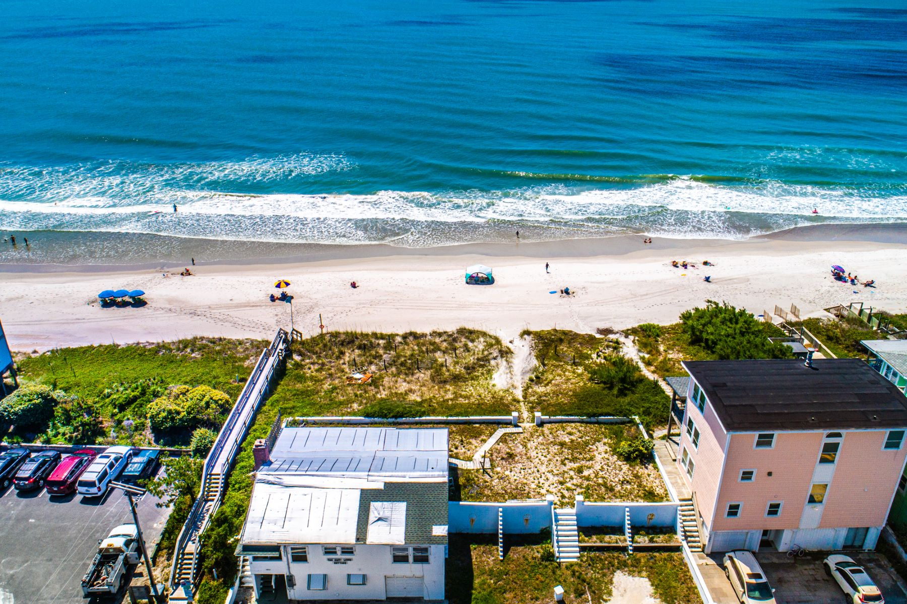 Land for Active at Astonishing Oceanfront Lot 1003 N Anderson Blvd Topsail Beach, North Carolina 28445 United States