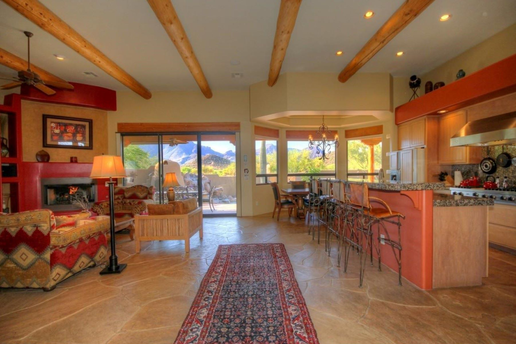 Single Family Home for Sale at Charming home in Cave Creek 5725 E Morning Star RD Cave Creek, Arizona, 85331 United States
