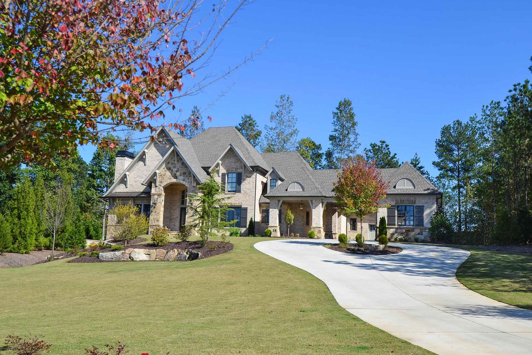Single Family Home for Sale at Open Plan Estate 705 Balley Forrest Court Milton, Georgia 30004 United States