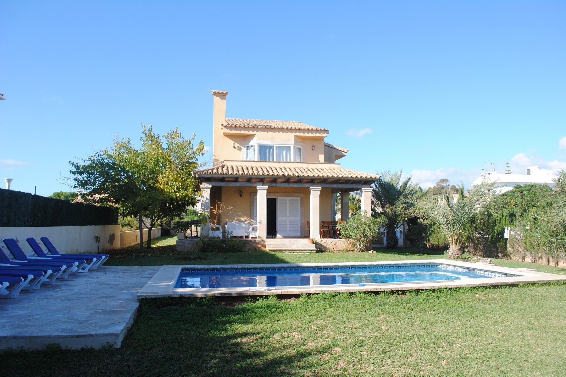 Single Family Home for Sale at Villa with pool a few meters from the beach Other Balearic Islands, Balearic Islands Spain