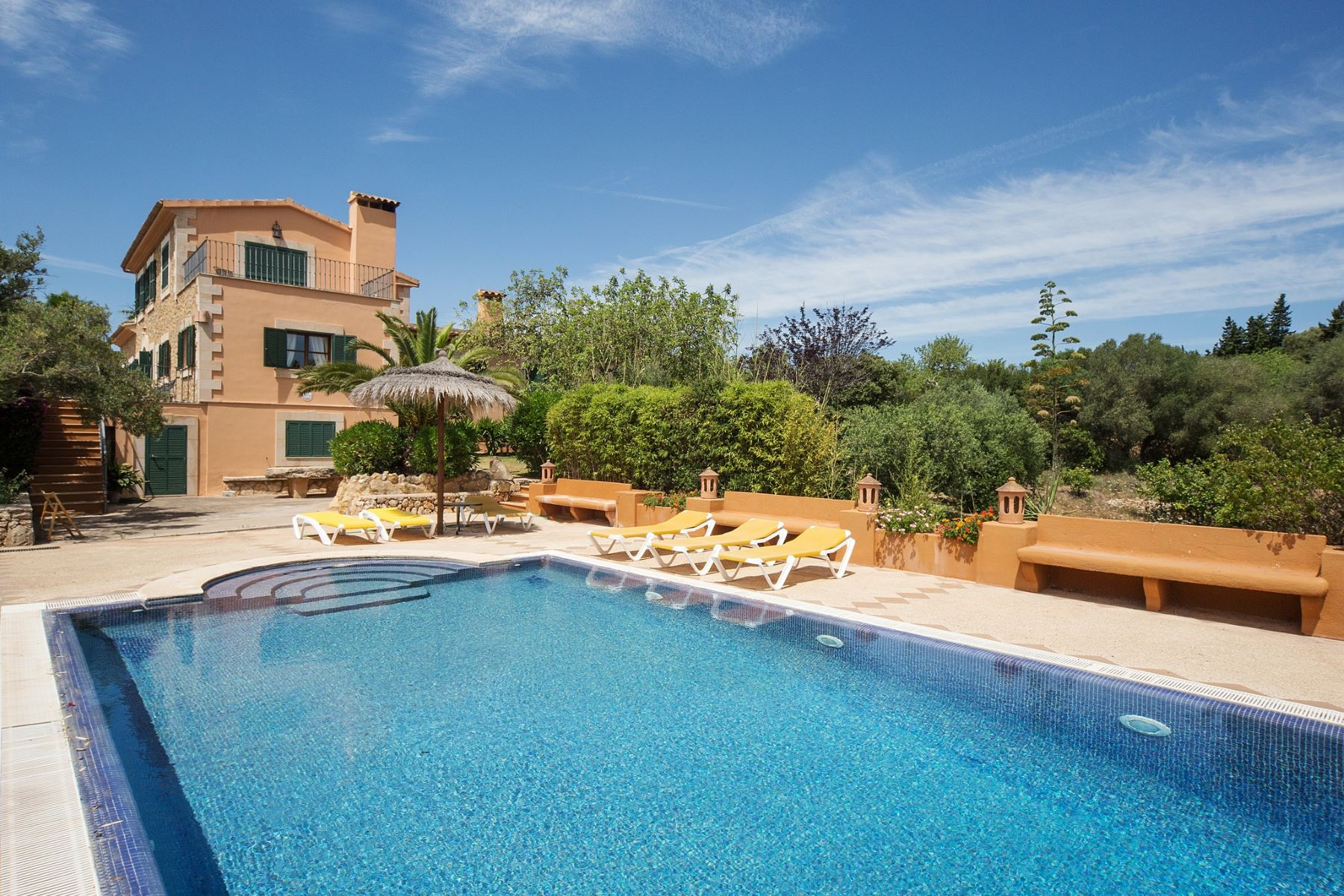 Single Family Home for Rent at Country Estate in S´alqueria Blanca Santanyi, Balearic Islands 07500 Spain