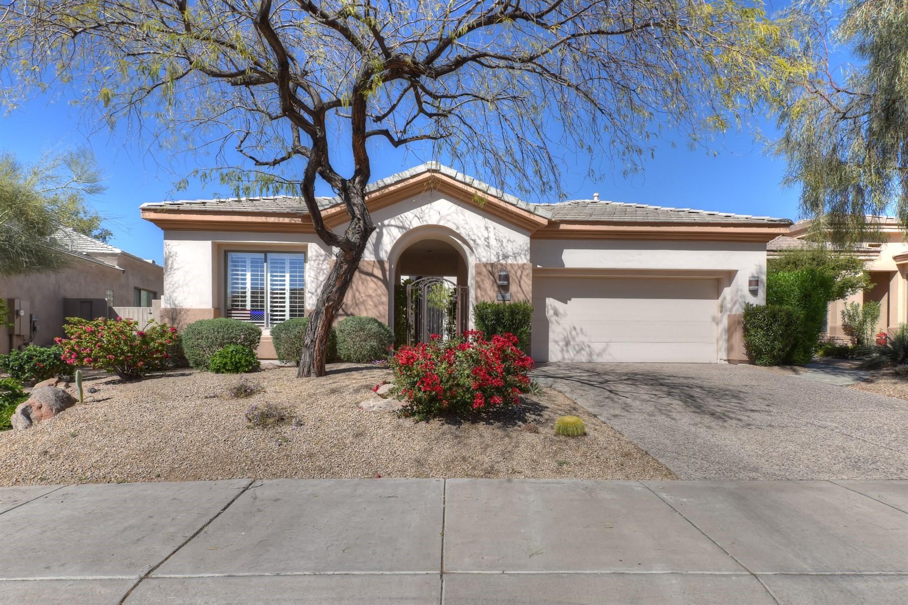 一戸建て のために 売買 アット Lovely home Sevilla model home in Halcon Villas 7692 E Whistling Wind Way Scottsdale, アリゾナ, 85255 アメリカ合衆国
