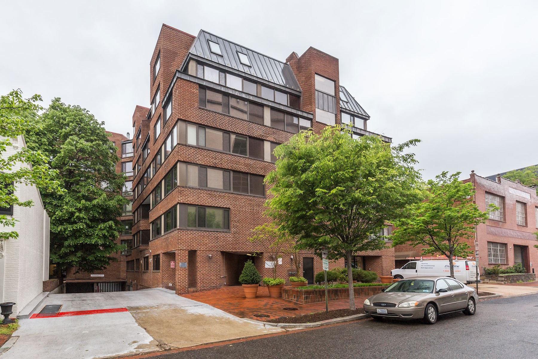 Condominio por un Venta en James Place #507 1077 30th Street Nw 507 Washington, Distrito De Columbia, 20007 Estados Unidos