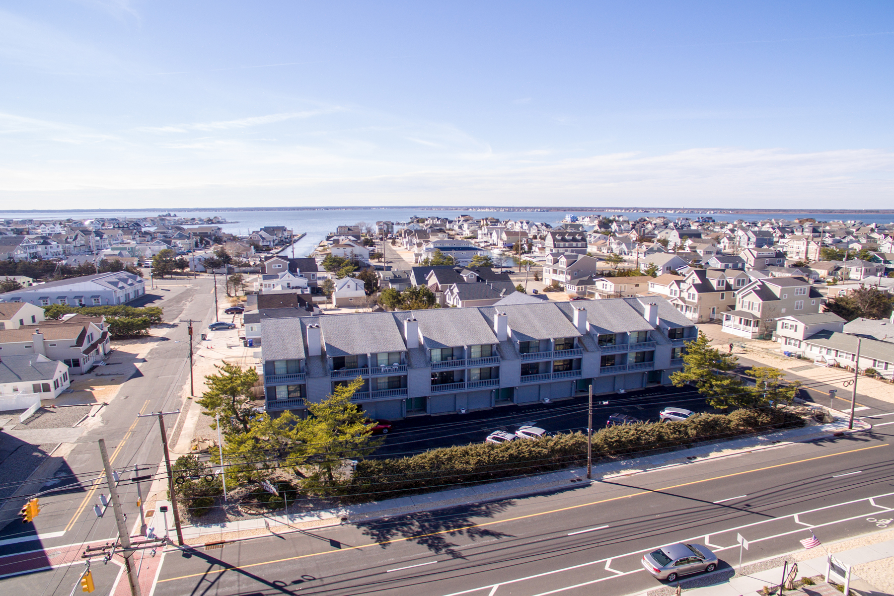 Townhouse for Sale at Large Townhouse Only One Block To The Beach! 3629-7 N Route 35, Lavallette, New Jersey 08735 United States