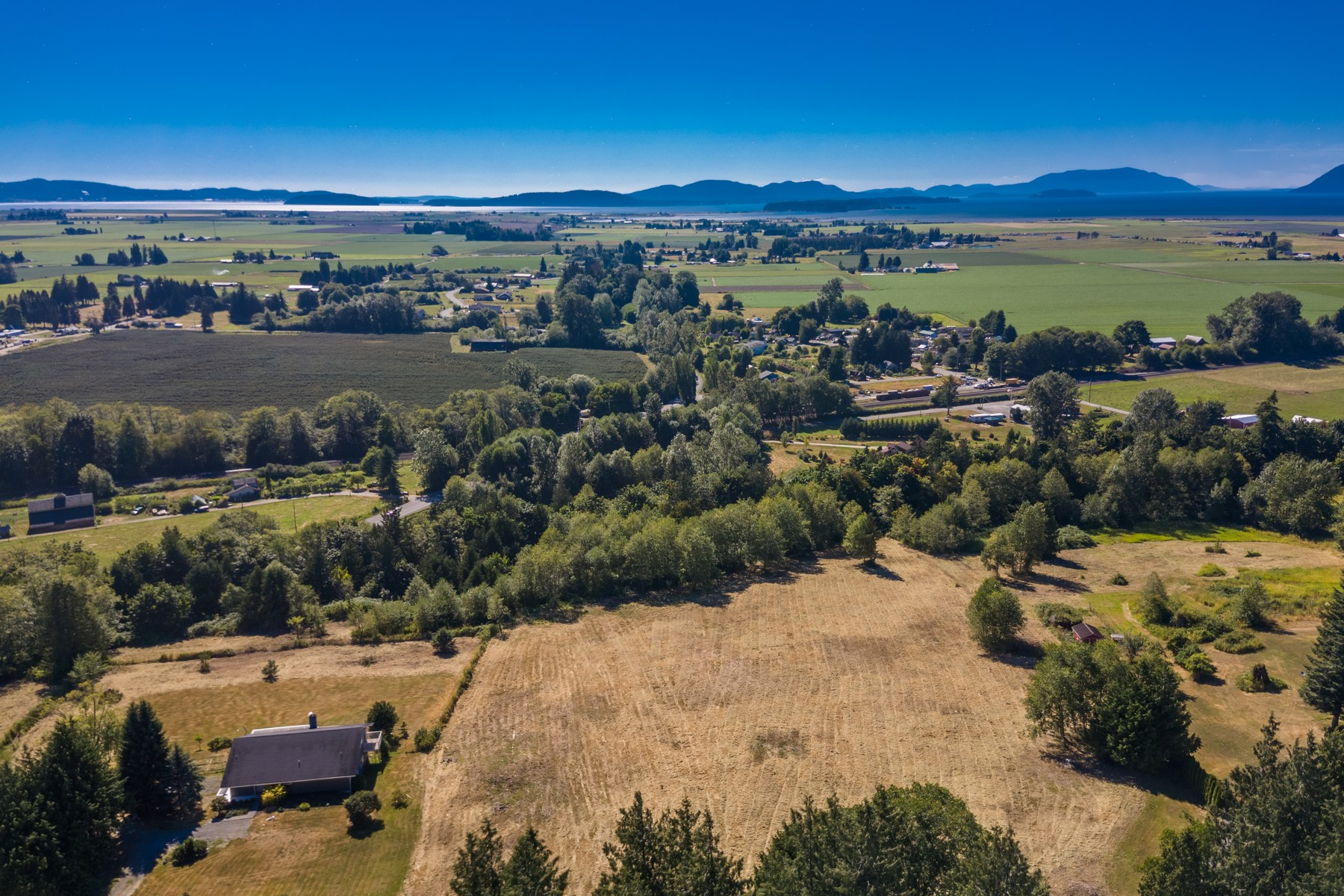 Land for Sale at Outstanding 5 Acres in Bow Washington XXXX Cedar Drive Bow, Washington, 98232 United States