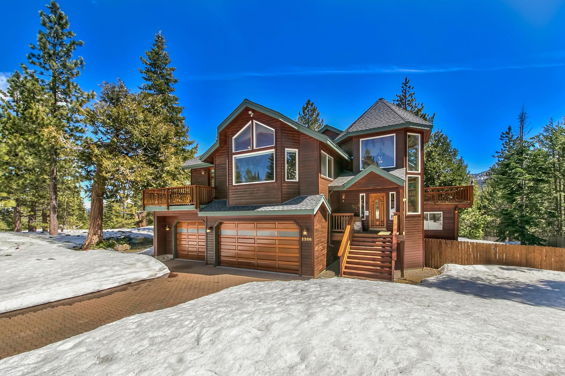 Casa Unifamiliar por un Venta en 2286 Chiapa Drive, South Lake Tahoe, California 96150 South Lake Tahoe, California 96150 Estados Unidos
