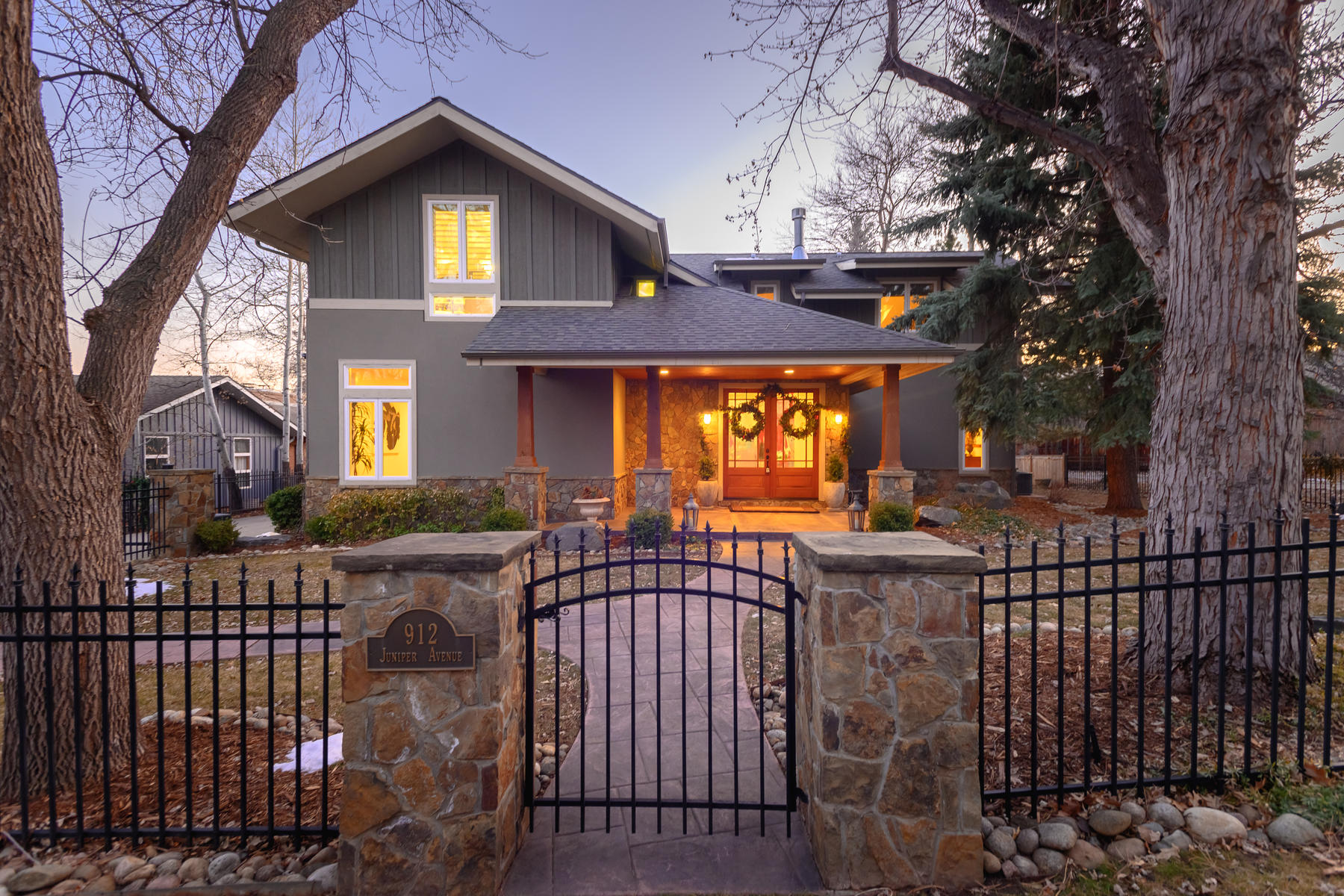 Single Family Homes for Sale at Refined Modern Craftsman With Guest Coach House 912 Juniper Ave Boulder, Colorado 80302 United States