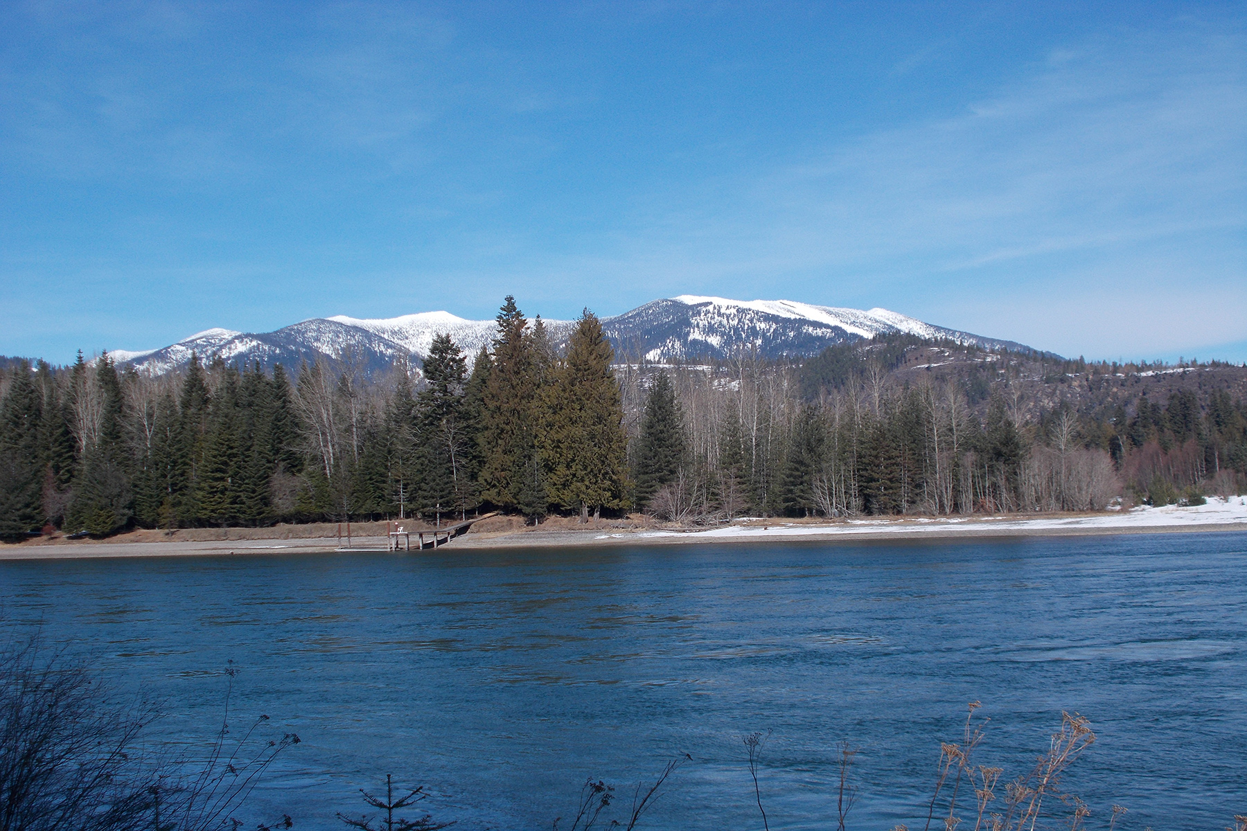 Land for Active at Beautiful River Frontage w/Private Runway Lot 4 Derr Island Clark Fork, Idaho 83811 United States