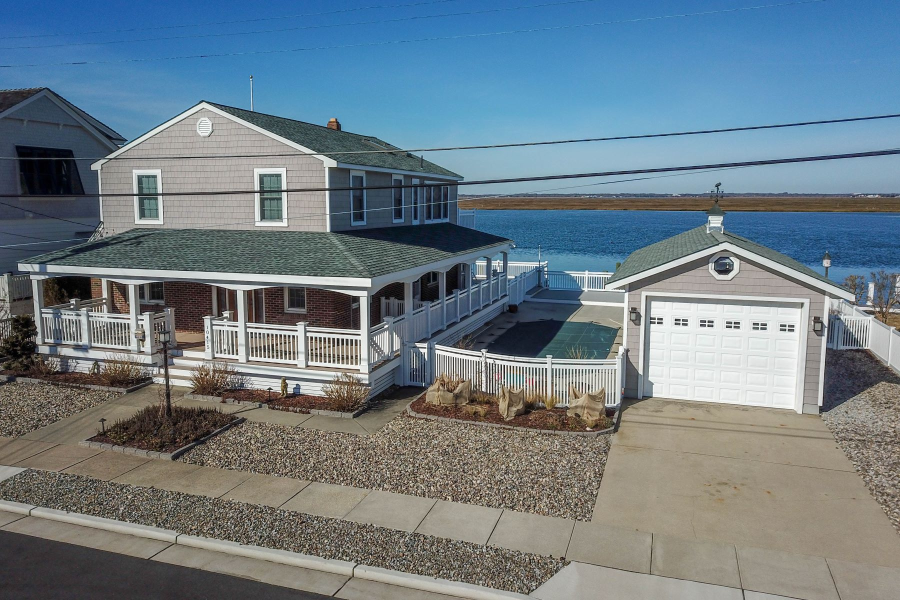Single Family Home for Sale at Exceptional Stone Harbor Bayfront 10415 Golden Gate Drive, Stone Harbor, New Jersey 08247 United States