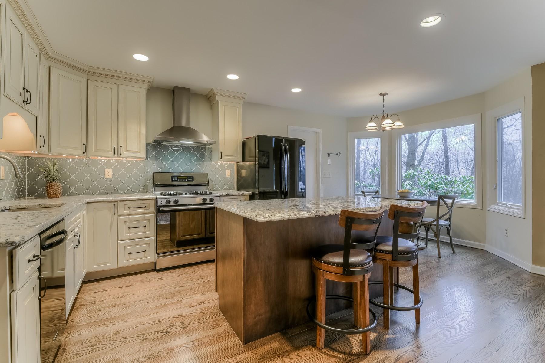 Casa Unifamiliar por un Venta en Custom Contemporary 155 Sun Valley Way Morris Plains, Nueva Jersey 07950 Estados Unidos