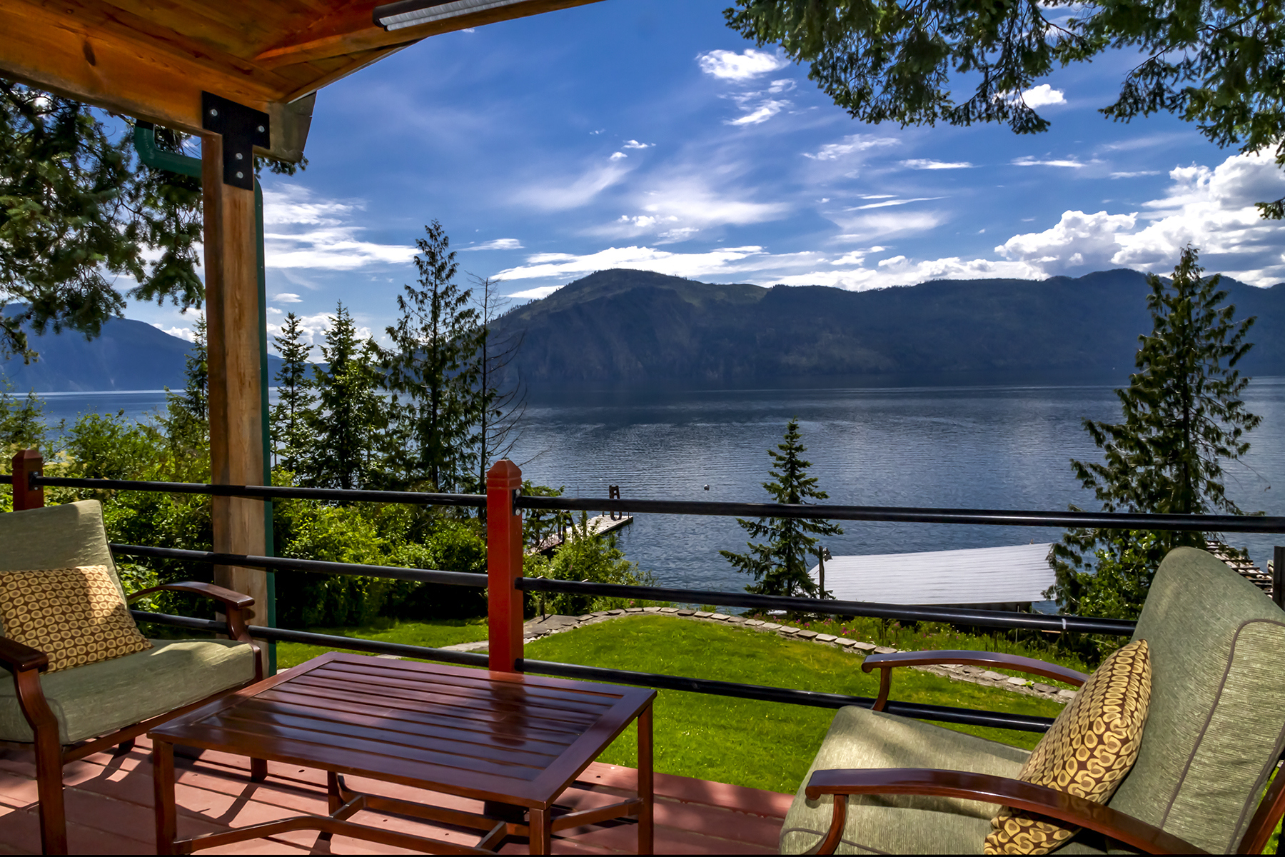 Single Family Homes for Active at 50 Fort George Lakefront Home 50 Fort George Rd Bayview, Idaho 83803 United States