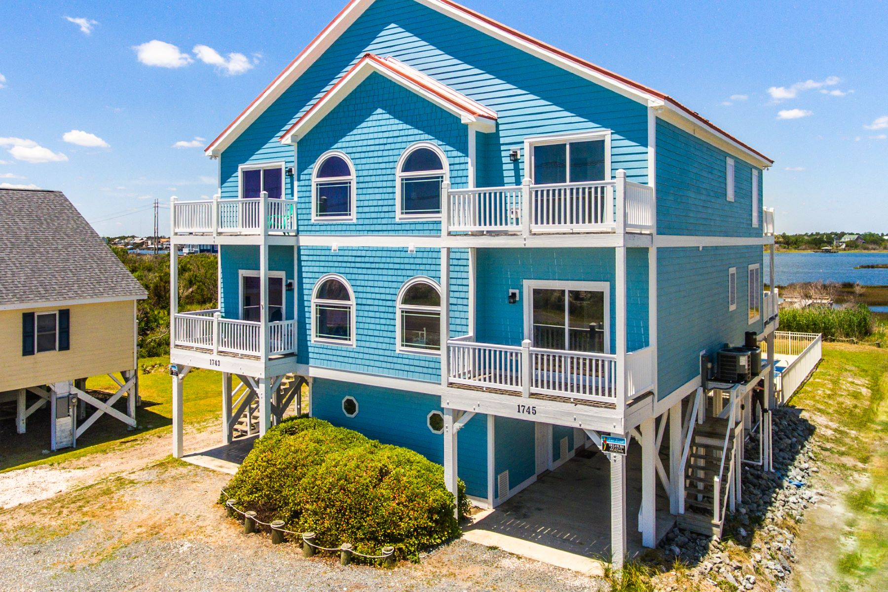 Single Family Homes for Active at Unique Topsail Island Retreat with Private Pool 1745 New River Inlet Road N Topsail Beach, North Carolina 28460 United States