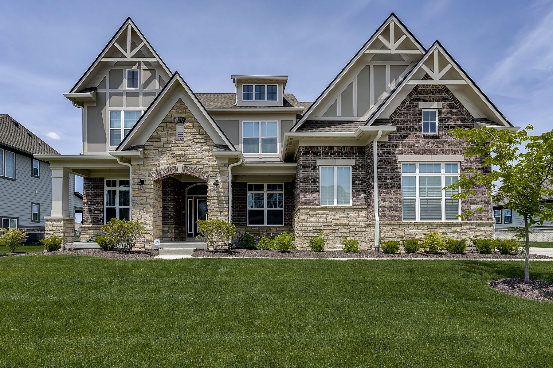 single family homes for Active at Exceptional Home in Carmel 3520 Moorland Lane Carmel, Indiana 46032 United States