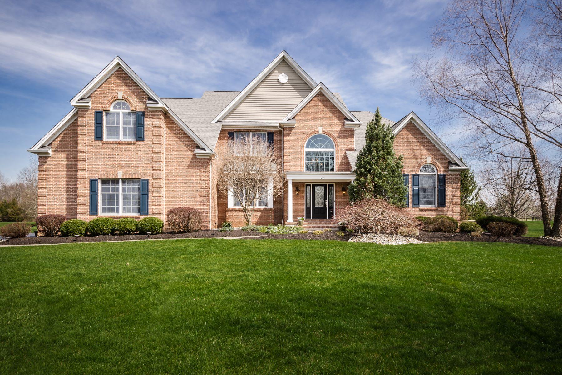 Частный односемейный дом для того Продажа на Come Home To This Fabulous House - Montgomery Township 29 Titus Road Skillman, 08558 Соединенные Штаты