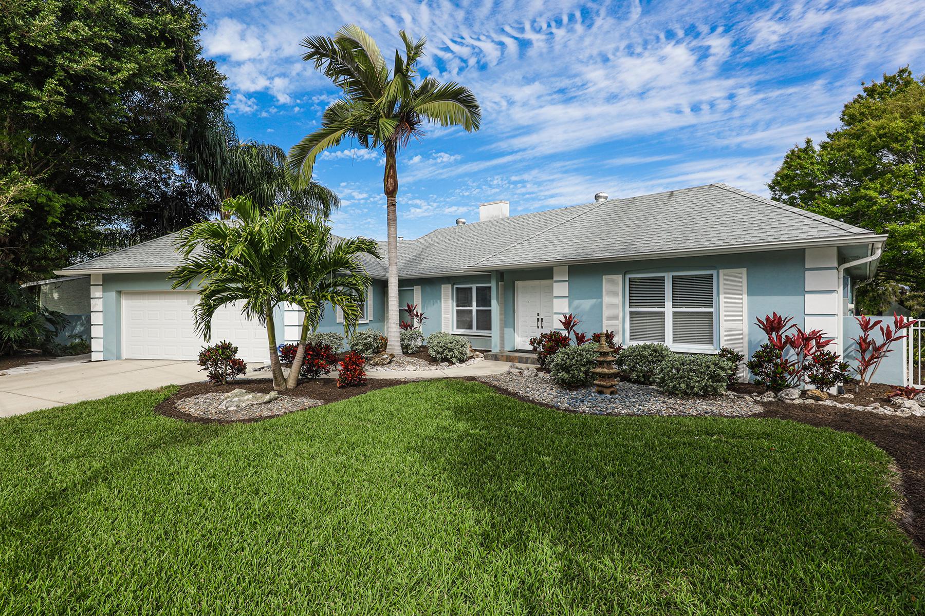 Single Family Homes 为 销售 在 LAKE PARK 1719 Shoreland Dr 萨拉索塔, 佛罗里达州 34239 美国
