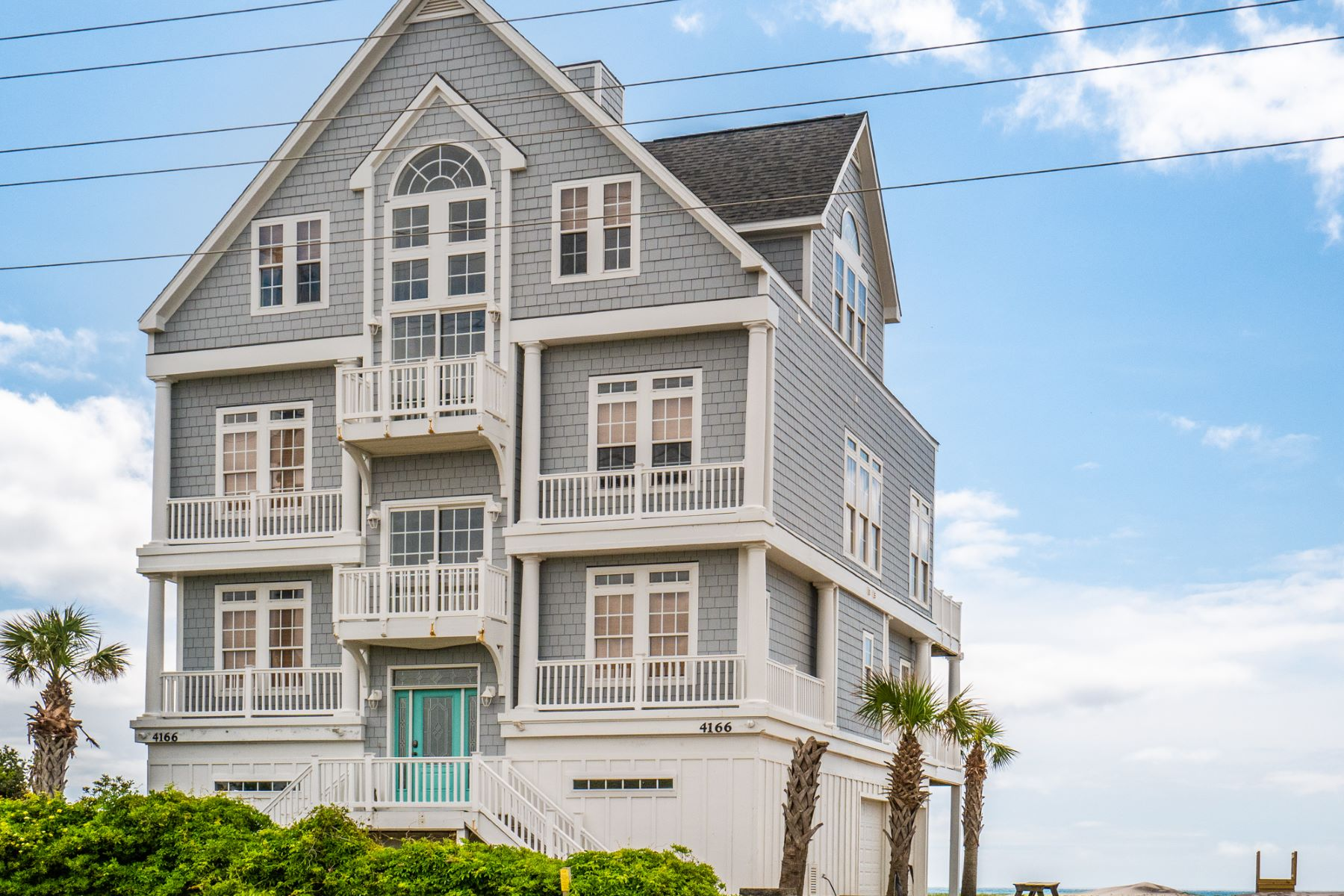 Single Family Homes for Sale at Magnificent Oceanfront Getaway in North Topsail 4166 Island Drive N Topsail Beach, North Carolina 28460 United States