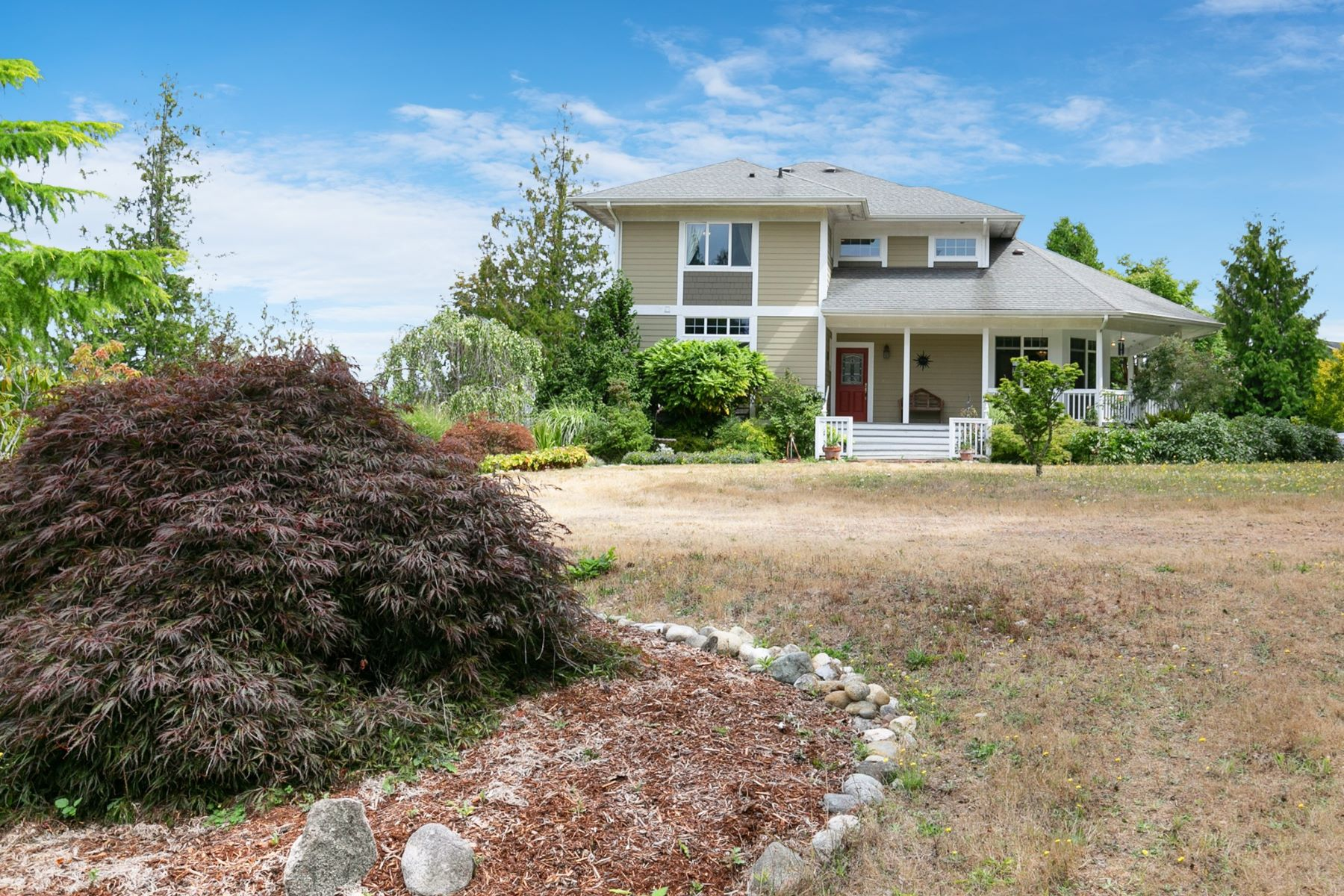 Single Family Homes for Sale at Camano Island Retreat 342 Echo Ridge Way Camano Island, Washington 98282 United States