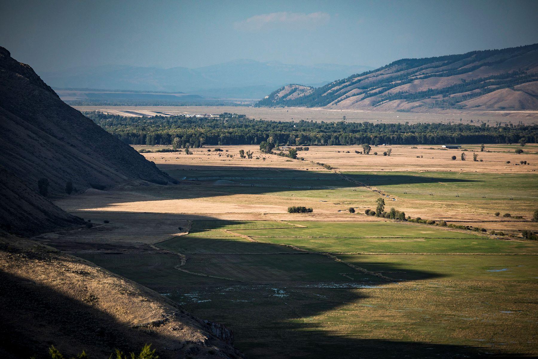 Terrain pour l Vente à Vogel Hill - Ranch 4 500 Red Tail Butte Road, Jackson, Wyoming 83001 États-Unis