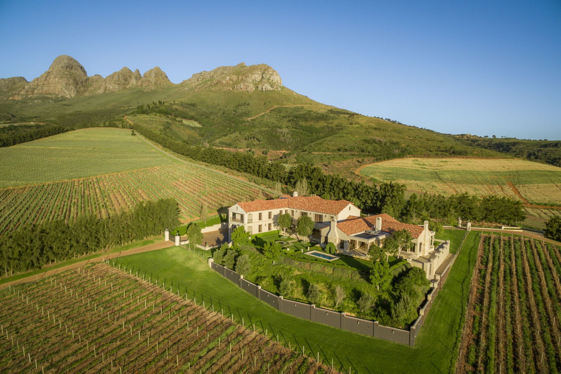 Farm / Ranch / Plantation for Sale at Stellenbosch Boutique Wine Estate Stellenbosch, Western Cape, 7600 South Africa