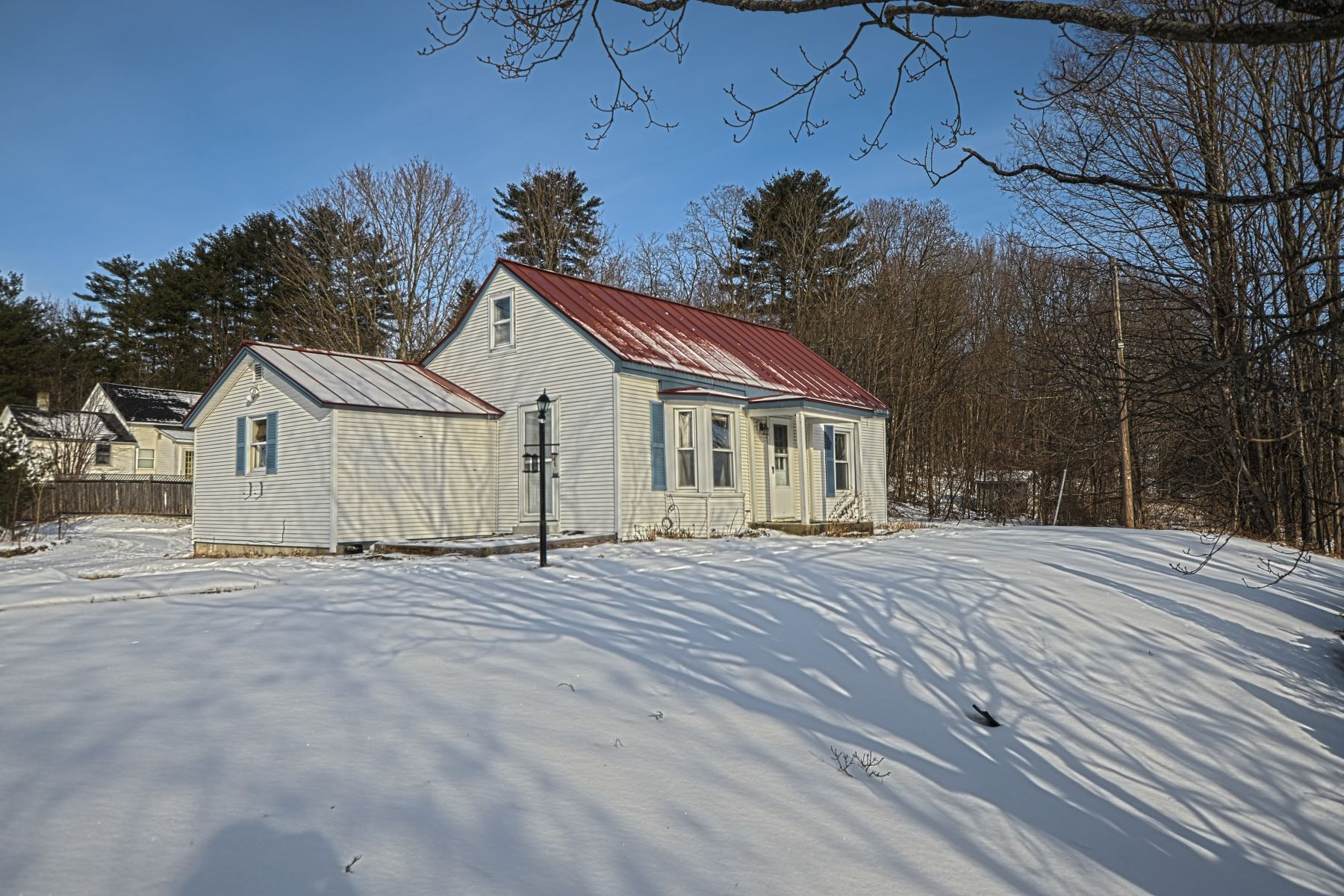 Single Family Home for Sale at Two or Three bedroom Cape in Bradford 395 High St Bradford, Vermont 05033 United States