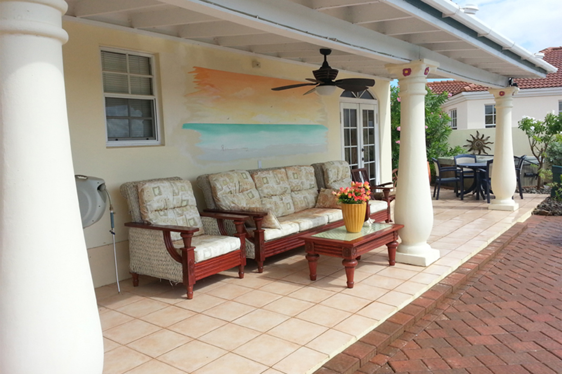 Additional photo for property listing at Enchanting Casita Malmok, Aruba Aruba