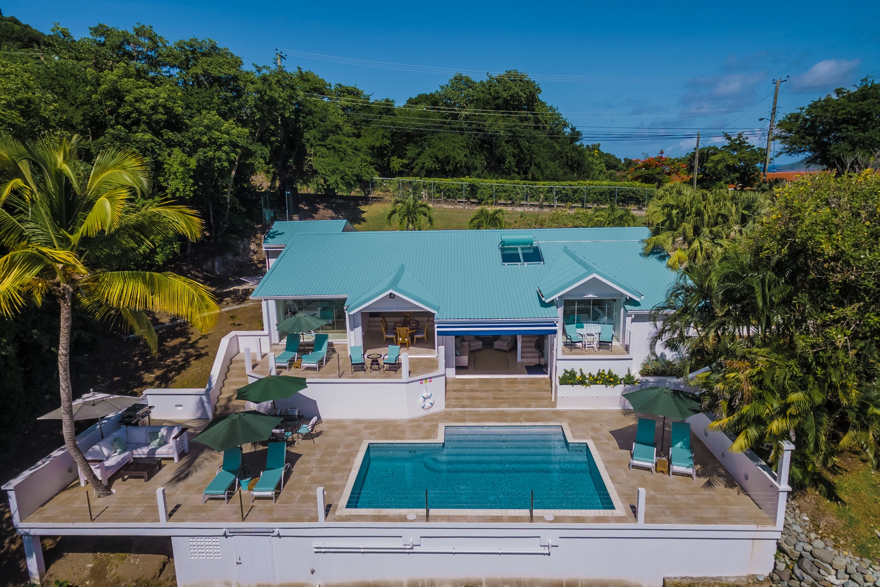 Single Family Homes for Sale at Deluxe 4 Bedroom Ocean View Villa with Guest House Gros Islet, Gros-Islet St. Lucia