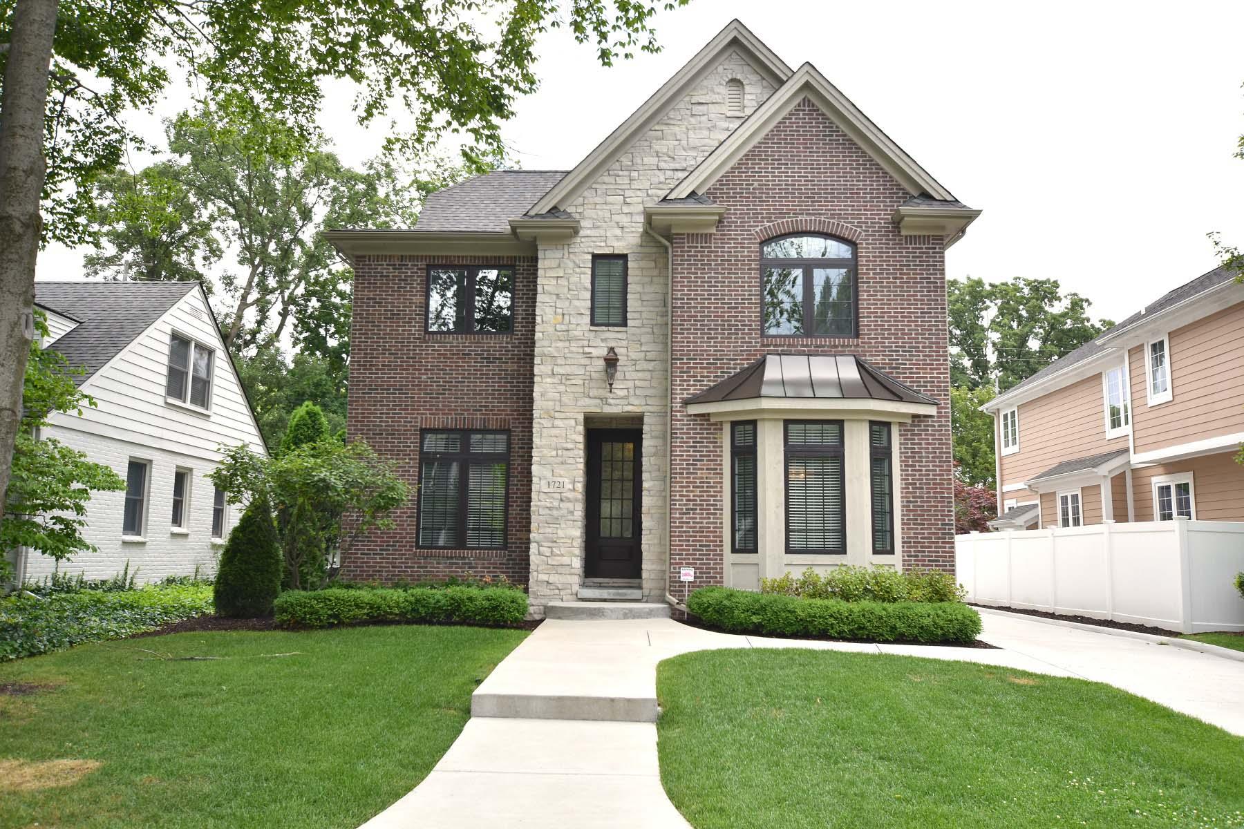 Single Family Homes for Sale at Birmingham 1721 Stanley Blvd Birmingham, Michigan 48009 United States