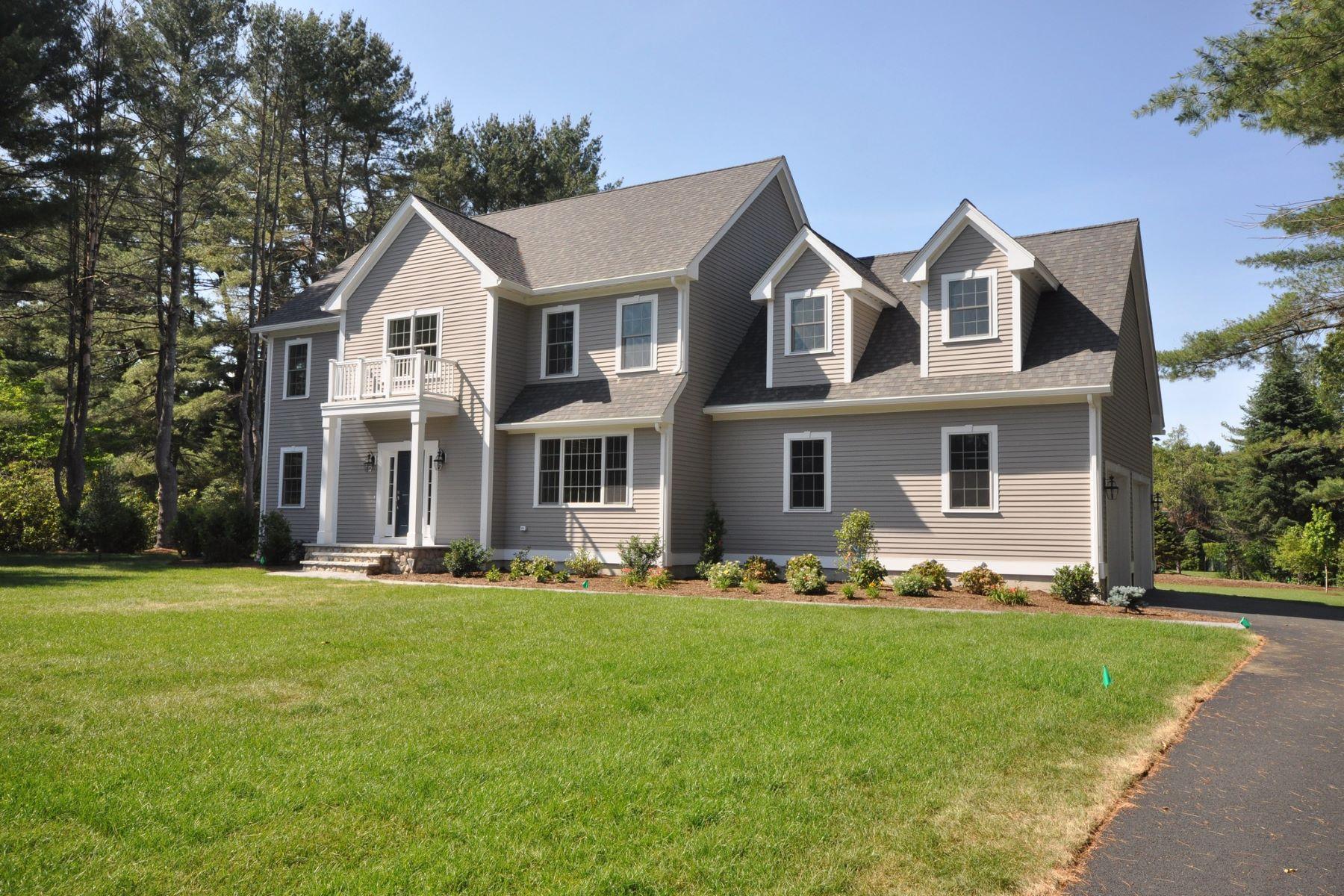 Maison unifamiliale pour l Vente à New Construction Southside Neighborhood Cul-de-sac 22 Wagonwheel Road Sudbury, Massachusetts, 01776 États-Unis