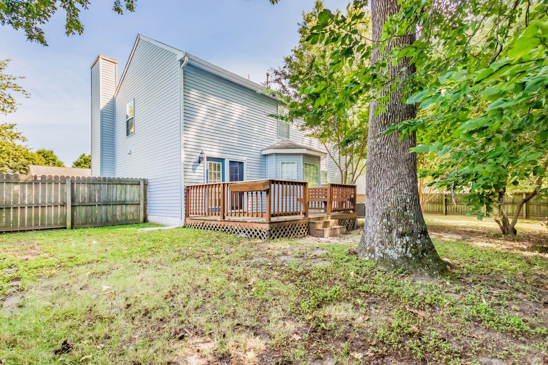Single Family Homes pour l Vente à Marthas Landing 7 Valentine Court Hampton, Virginia 23666 États-Unis