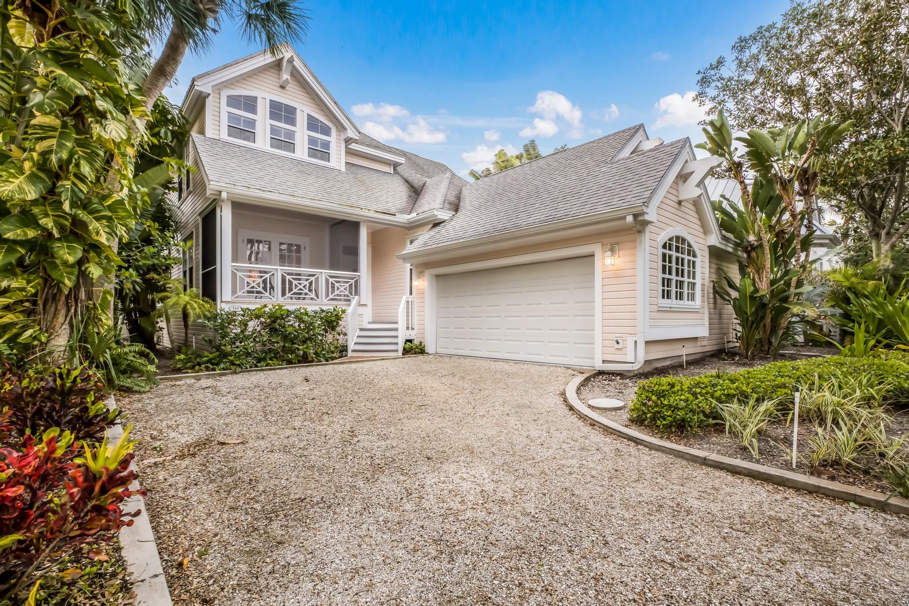 Single Family Homes for Active at 144 Carrick Bend Lane Boca Grande, Florida 33921 United States