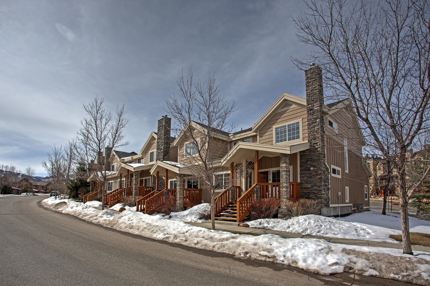 Townhouse for Sale at Large Bear Hollow Village End Unit 5519 Bobsled Blvd Park City, Utah, 84098 United States